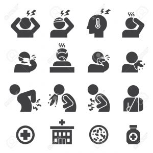 45184409-sick-icon-set-Stock-Vector-headache-300x300